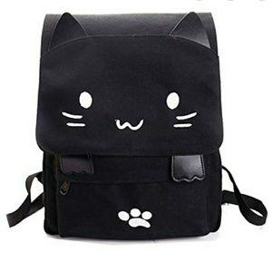 Cute Black Kitty Backpack